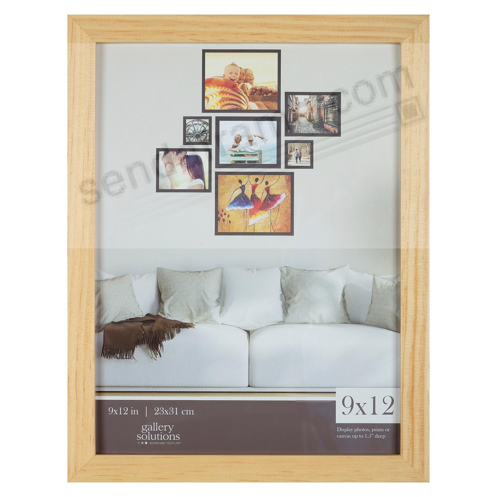 NATURAL GALLERY 9x12 frame by Gallery Solutions®