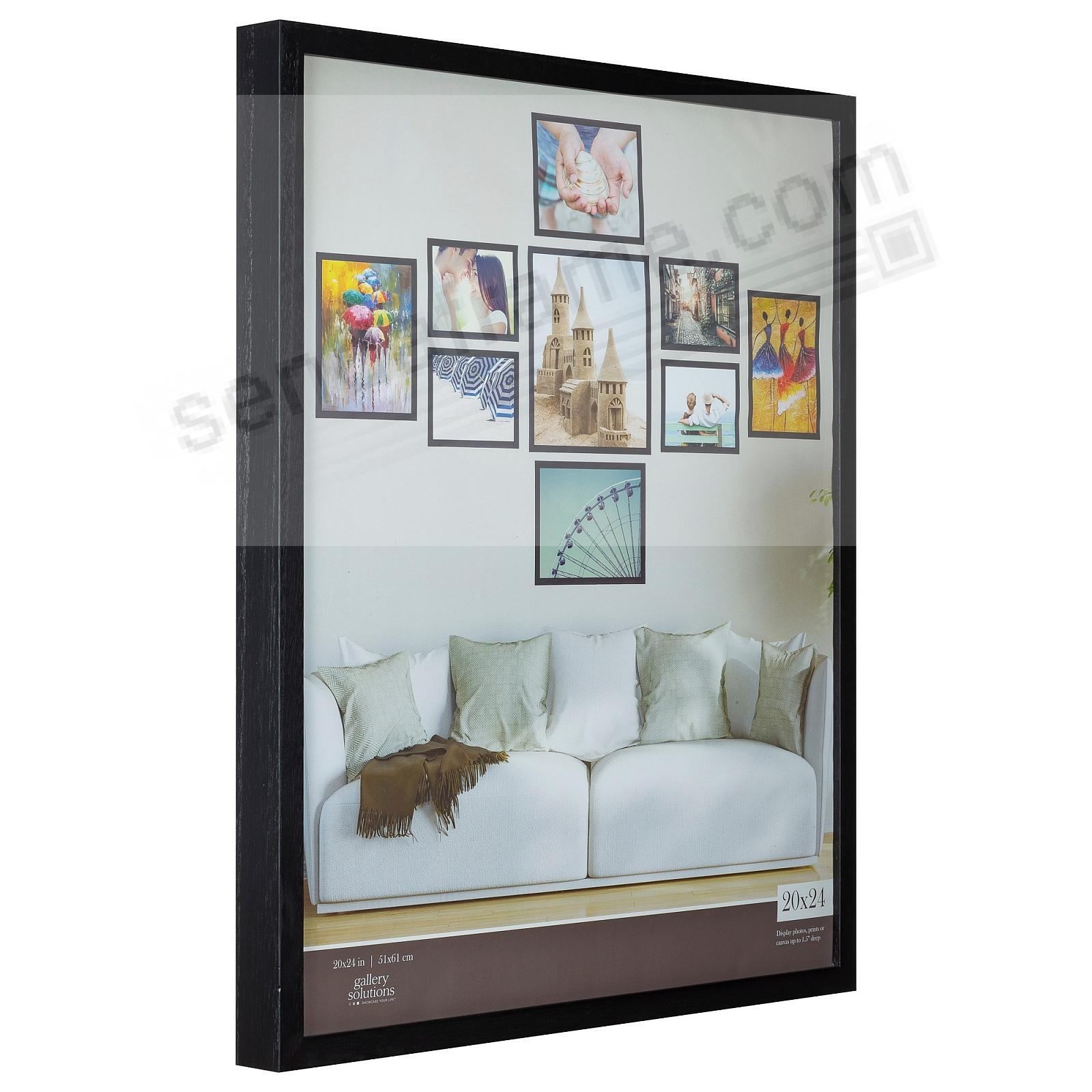 BLACK GALLERY 20x24 frame by Gallery Solutions®