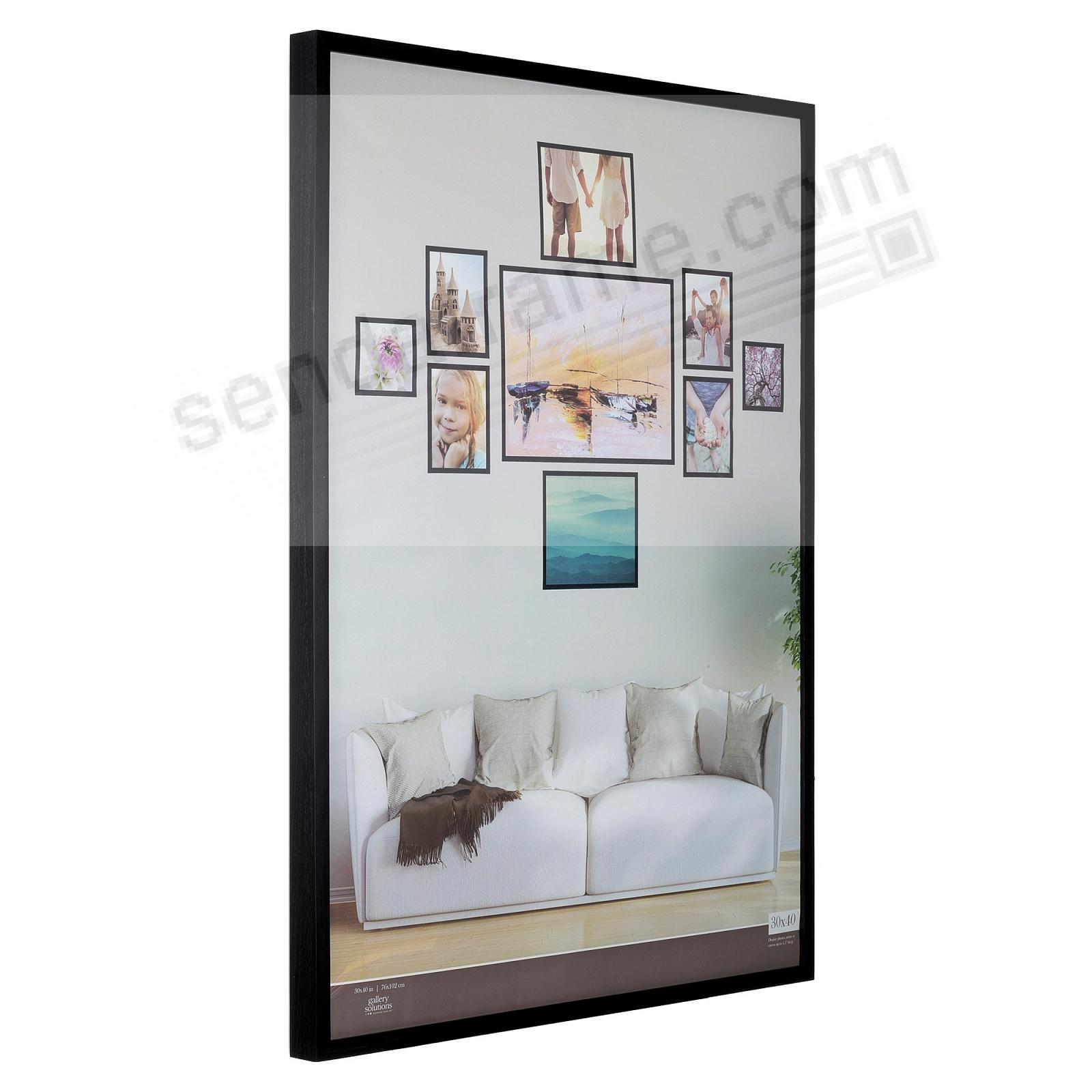 BLACK GALLERY 30x40 frame by Gallery Solutions® (3s)