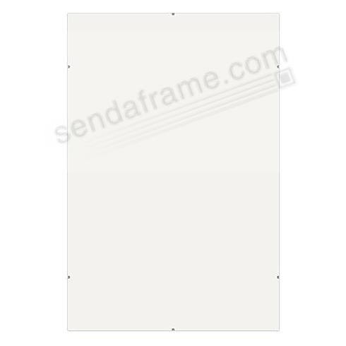 The FRAMELESS CLIP 5x7 frame by Framatic®