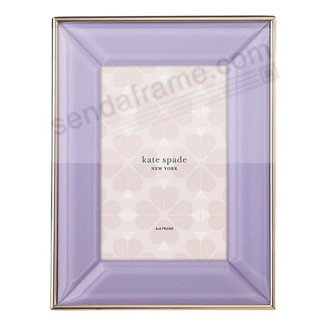 Charles Lane™ Lilac 4x6 frame by kate spade new york®