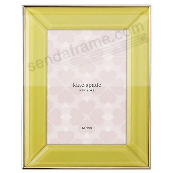 Charles Lane™ YELLOW 5x7 frame by kate spade new york®