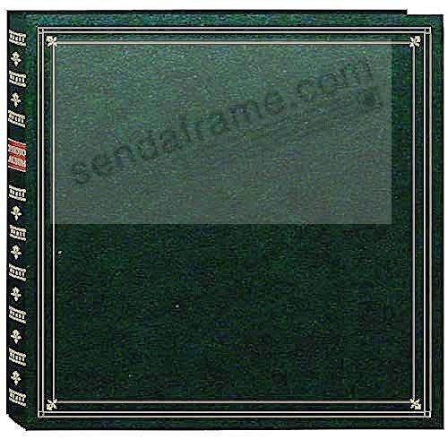 Large Format Hunter-Green Memo Album by Pioneer® for 420 photos with room to expand!