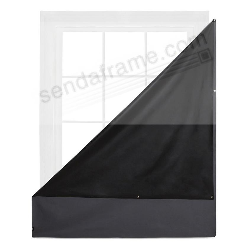 COMPLETE BLACKOUT MAGNETIC WINDOW COVER -Charcoal- by Umbra®