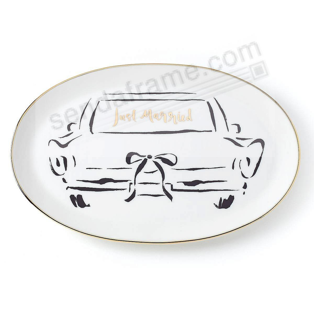 BRIDAL PARTY OBLONG DISH by kate spade new york®
