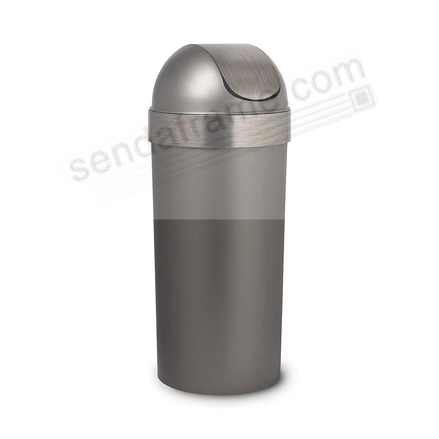 The Original VENTI TRASH CAN - PEWTER by Umbra+®