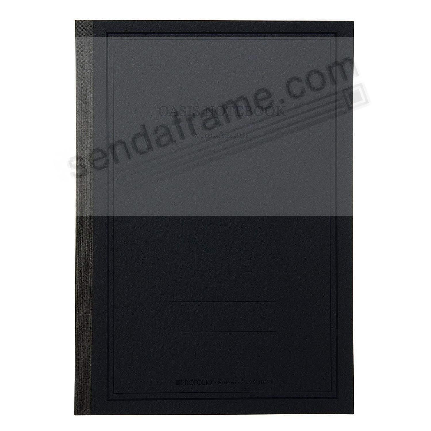 The ProFolio Oasis™ Notebook (LARGE) by ITOYA®- Charcoal