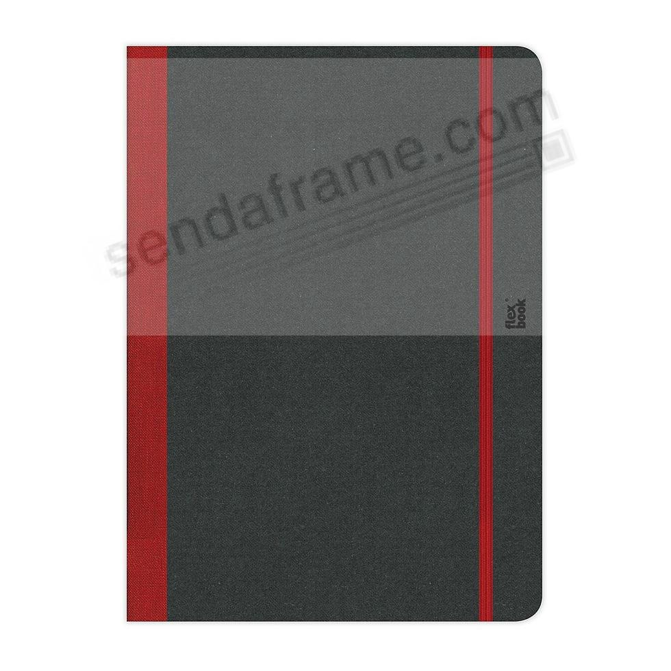 FLEXBOOK NOTEBOOK (3x5 Blank) Red by PratParis®