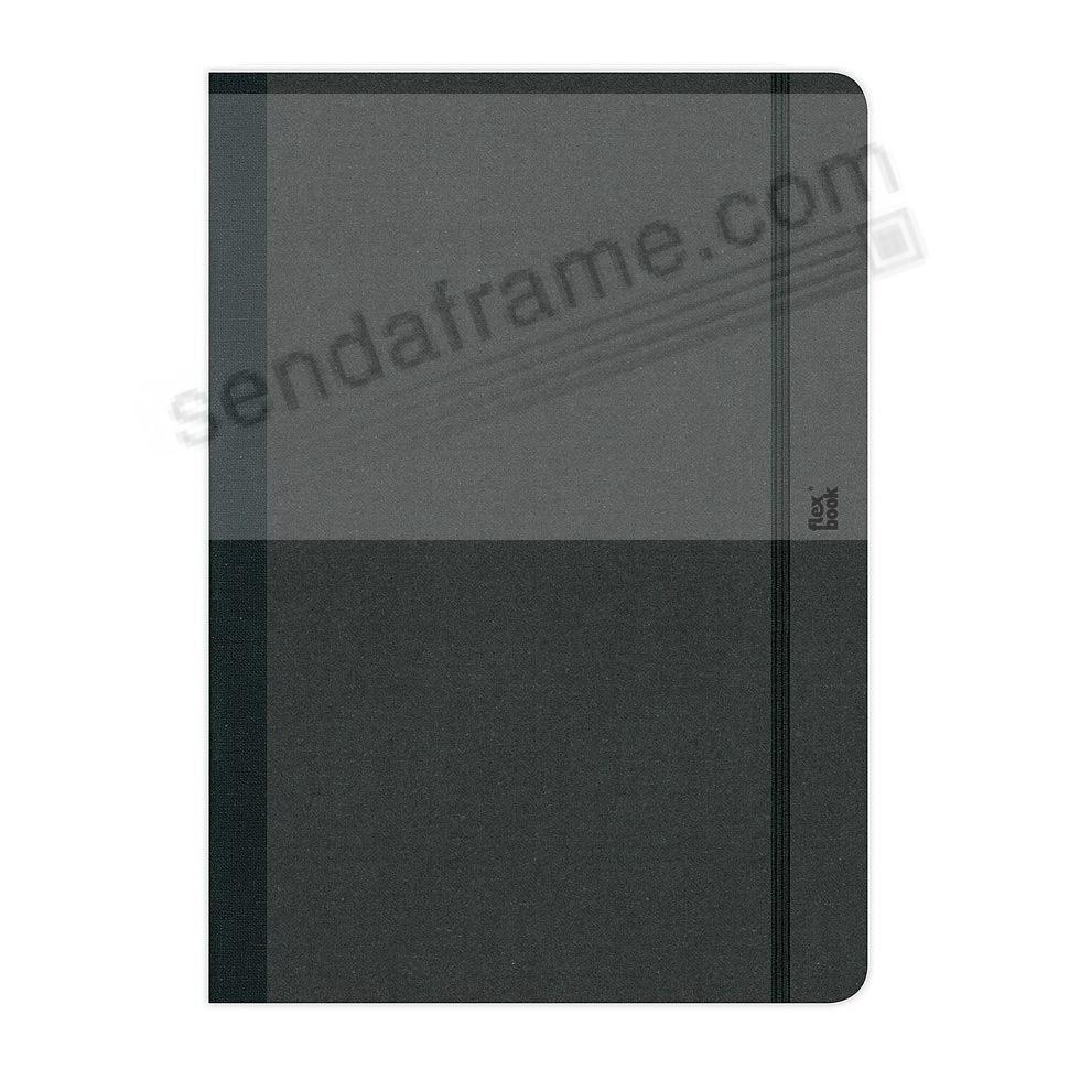FLEXBOOK NOTEBOOK (5x8 Ruled) Black by PratParis®