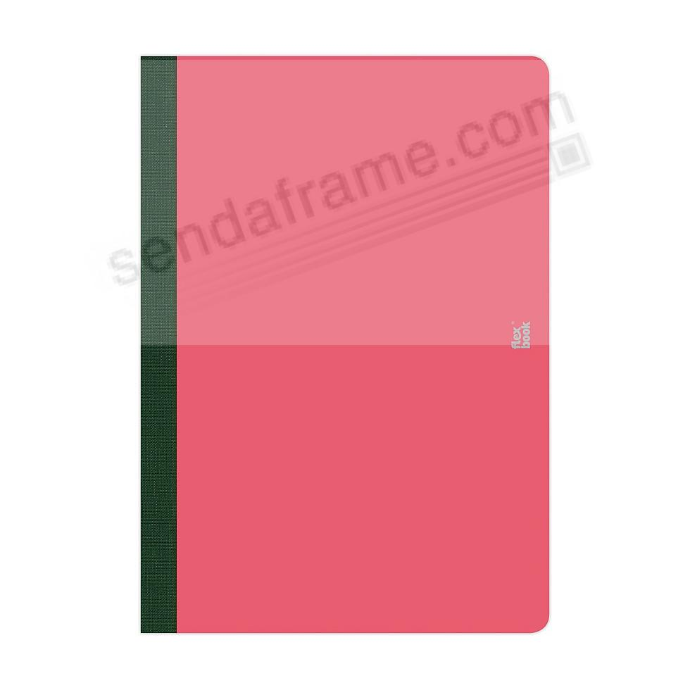 FLEXBOOK SMARTBOOK (5x8 Ruled) Pink/Black by PratParis®