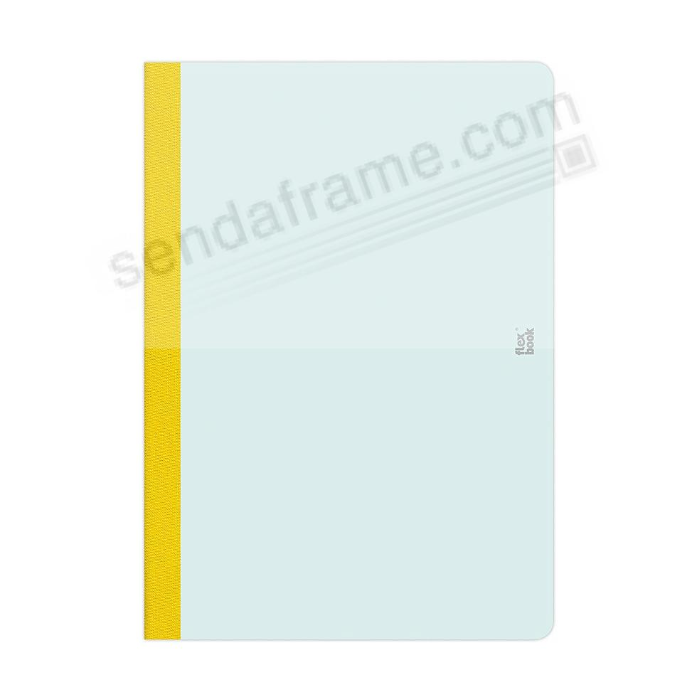 FLEXBOOK SMARTBOOK (6x9 Ruled) Mint-Green/Yellow by PratParis®
