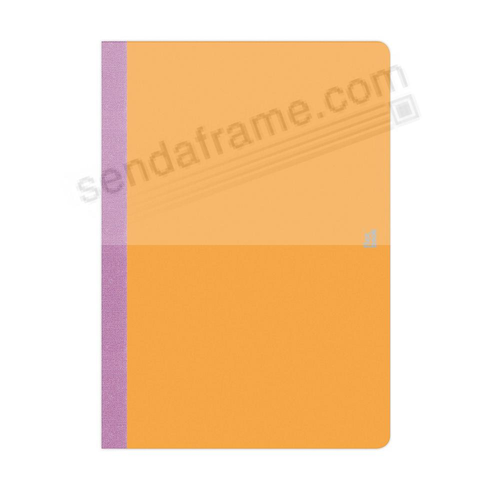 FLEXBOOK SMARTBOOK (6x9 Ruled) Orange/Purple by PratParis®