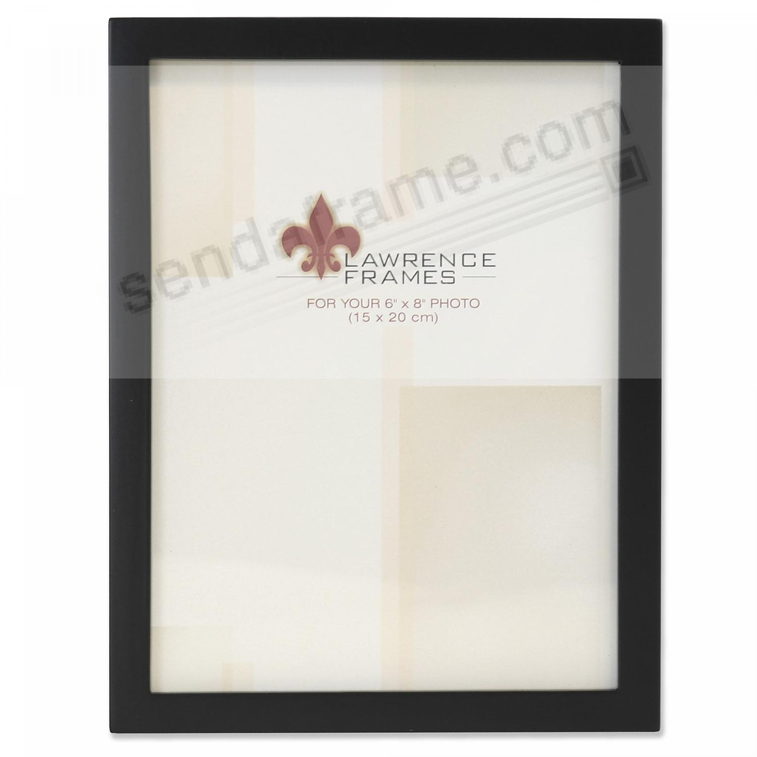 Classic Black SQUARE CORNER style by Lawrence Frames®