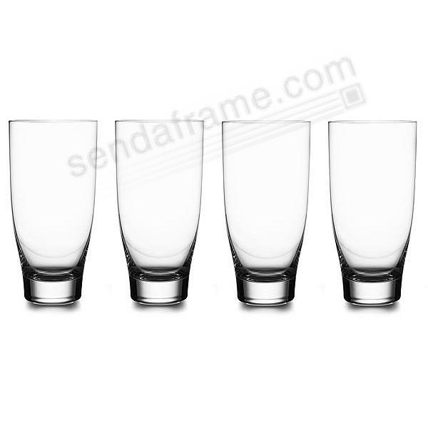 The Original VIE HIGHBALL GLASSES by Nambe® (set of 4)