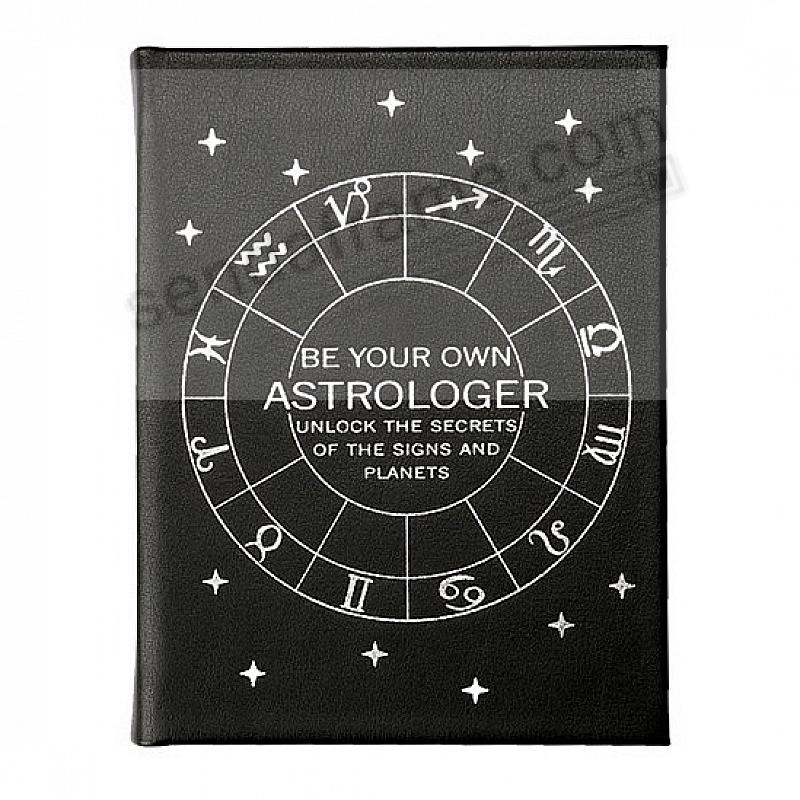 BE YOUR OWN ASTROLOGER In Luxe Leather by Graphic Image™