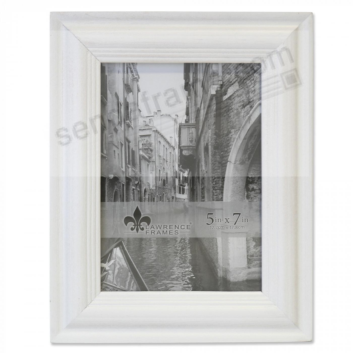 SUNWASHED WHITE 5x7 frame by Lawrence®
