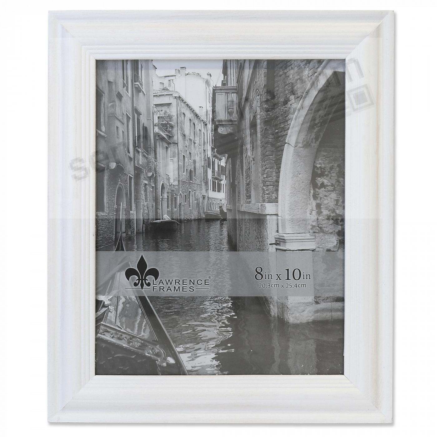 SUNWASHED WHITE 8x10 frame by Lawrence®