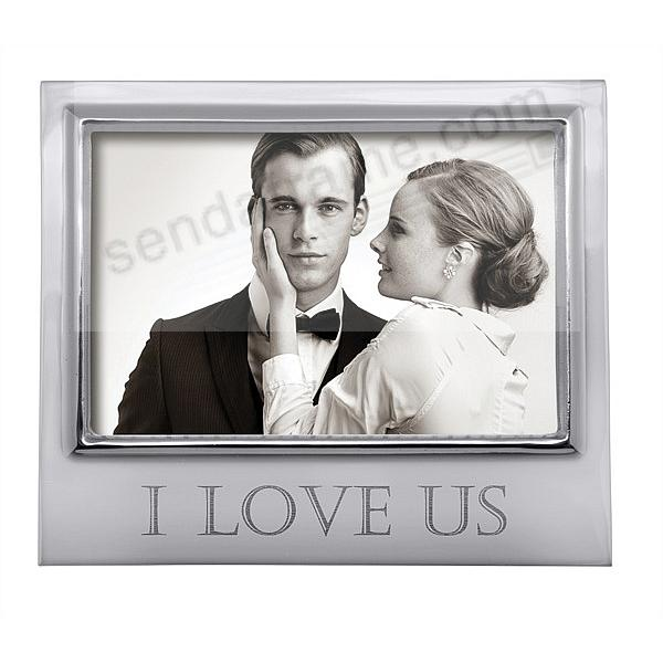 I LOVE US 6x4 SIGNATURE frame by Mariposa®