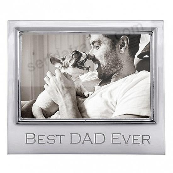 BEST DAD EVER 6x4 STATEMENT frame by Mariposa®