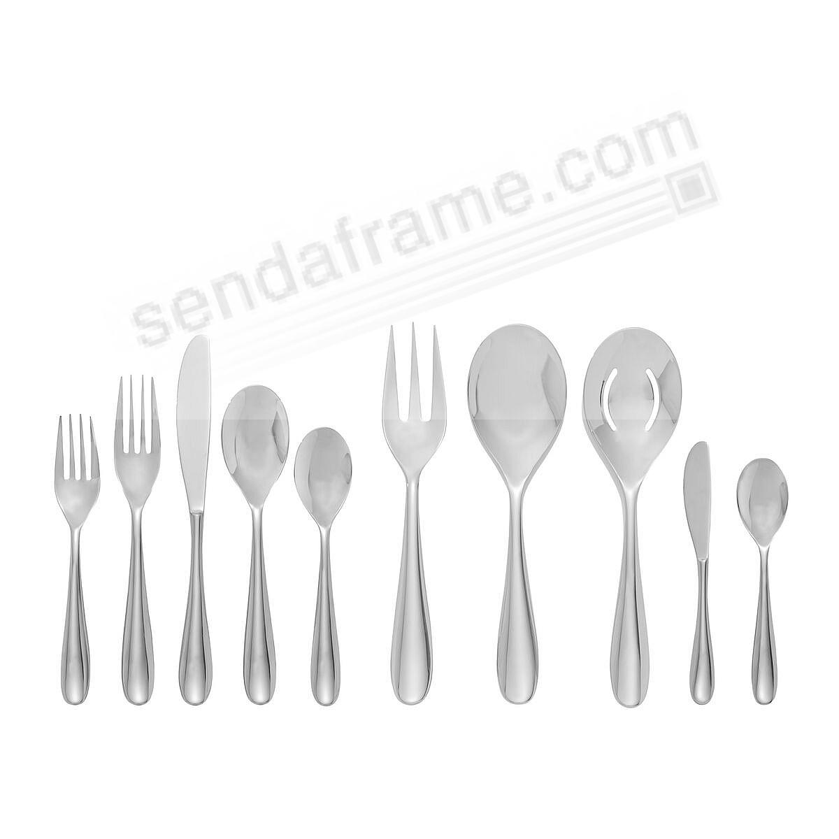 The PAIGE 45PC Flatware Set by Nambe®