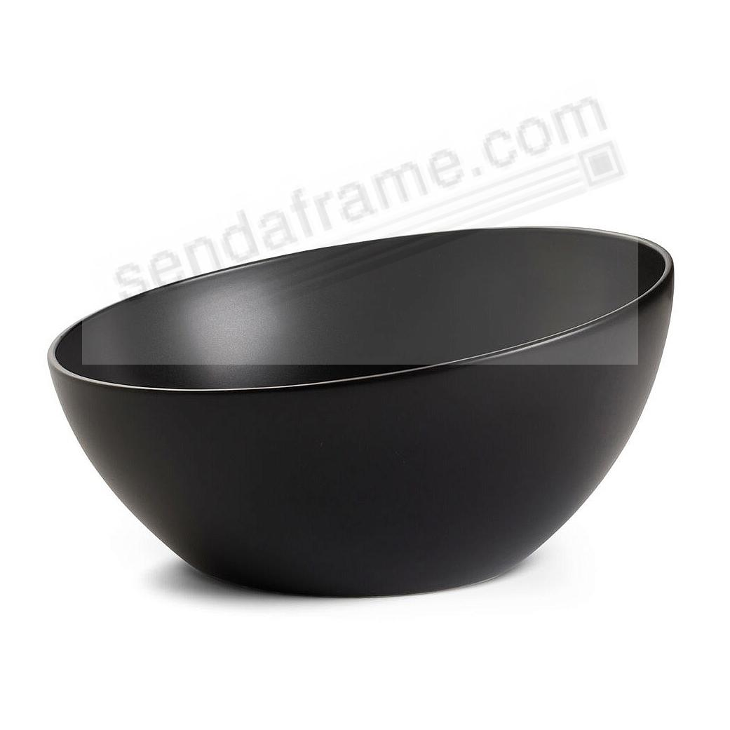 ORBIT SERVING BOWL CELESTIAL-BLACK by Nambe®