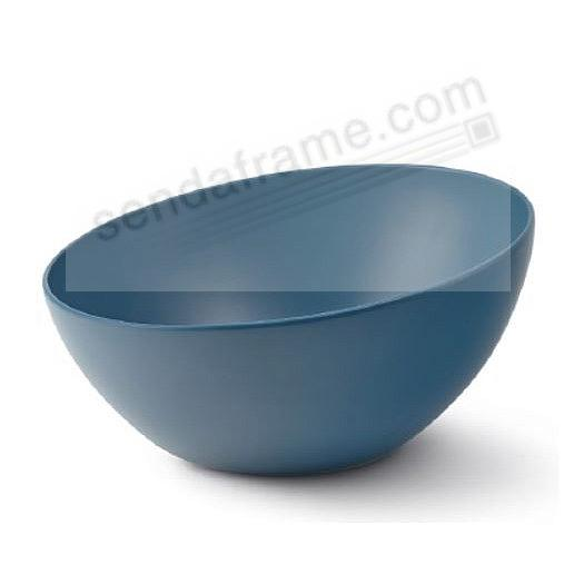 ORBIT SERVING BOWL AURORA-BLUE by Nambe®