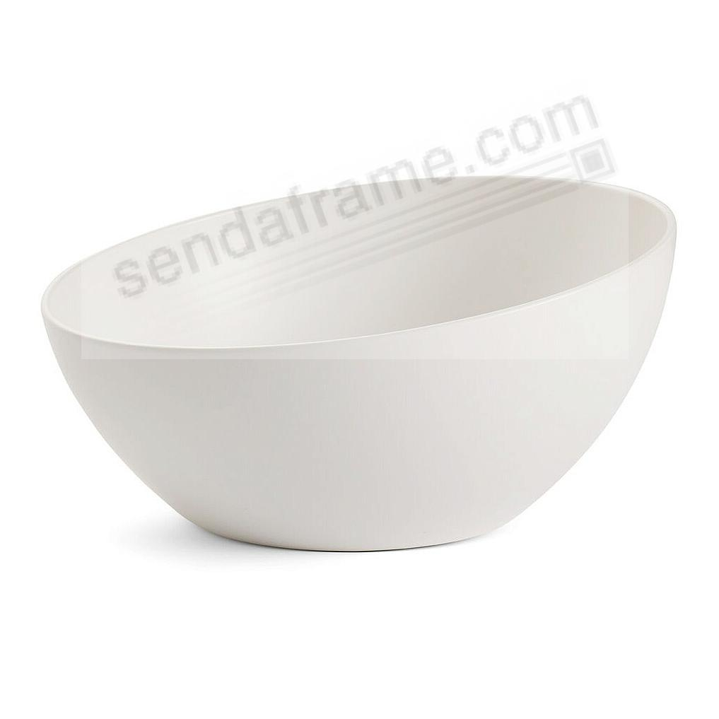 ORBIT SERVING BOWL STARRY-WHITE by Nambe®