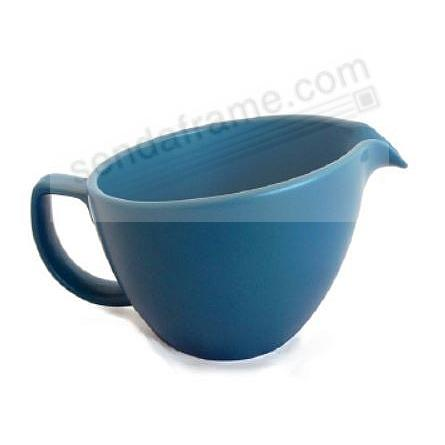 ORBIT CREAM PITCHER AURORA-BLUE by Nambe®