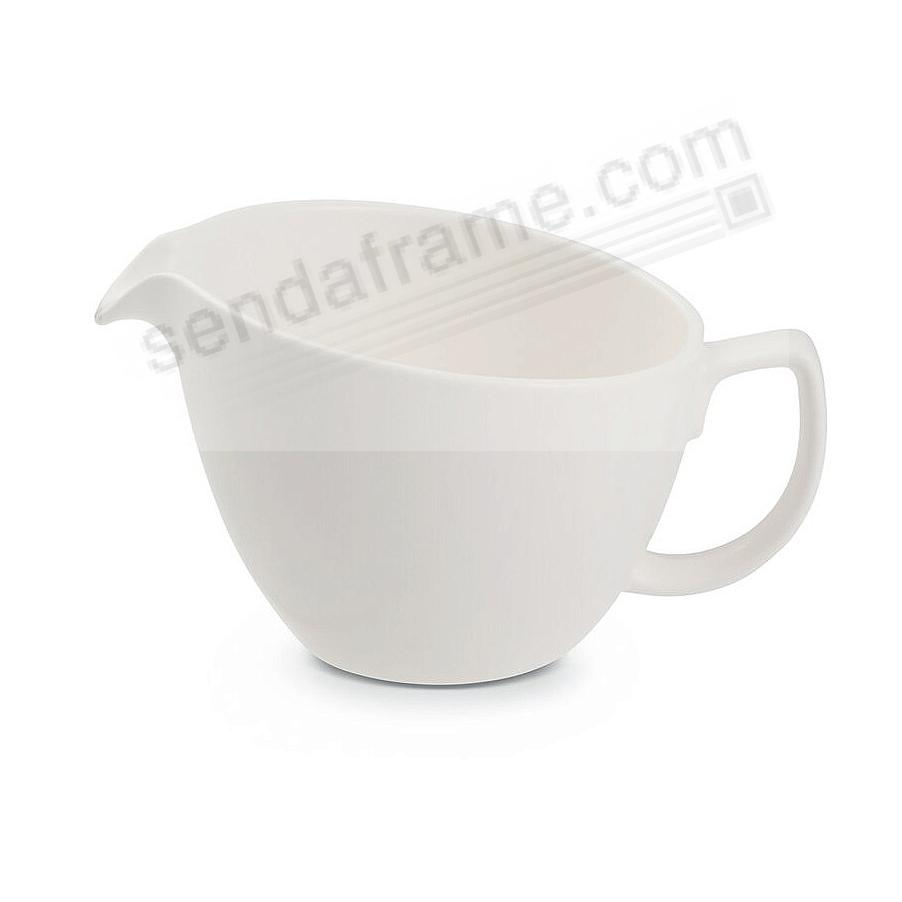 ORBIT CREAM PITCHER STARRY-WHITE by Nambe®
