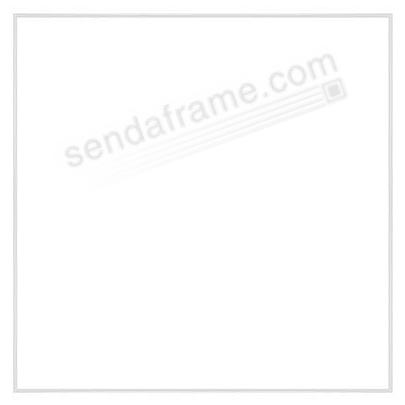 FINELINE White Aluminum 16x16 by Framatic®