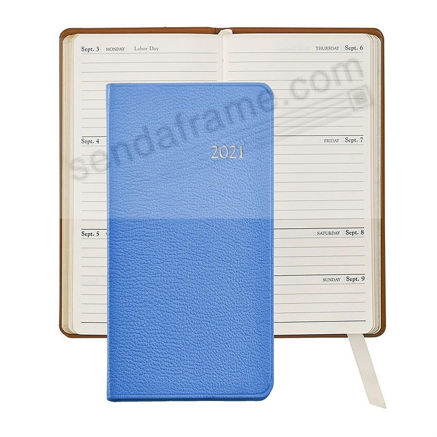 2020 BRIGHTS-LILAC 6-in Pocket Datebook in Fine Leather by Graphic Image™