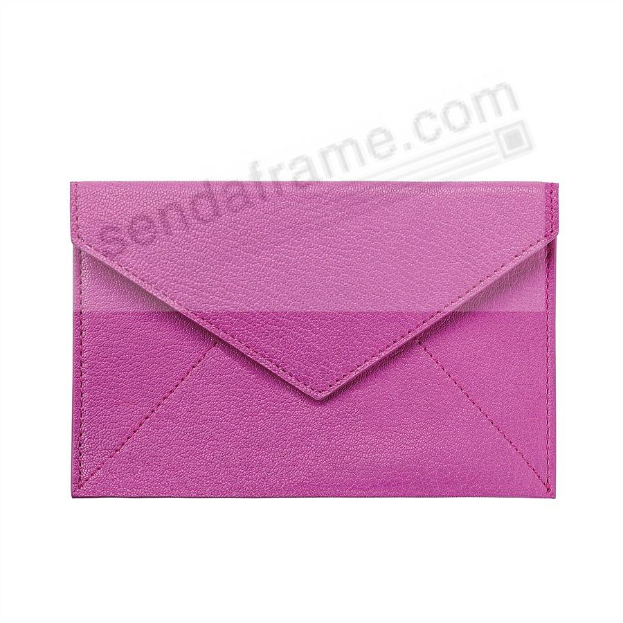 Orchid luxe Leather Photo Envelope (Medium) by Graphic Image™
