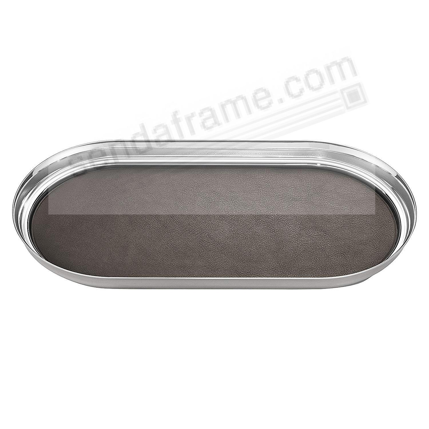 The MANHATTAN TRAY (Small) 13x7 crafted by Georg Jensen®