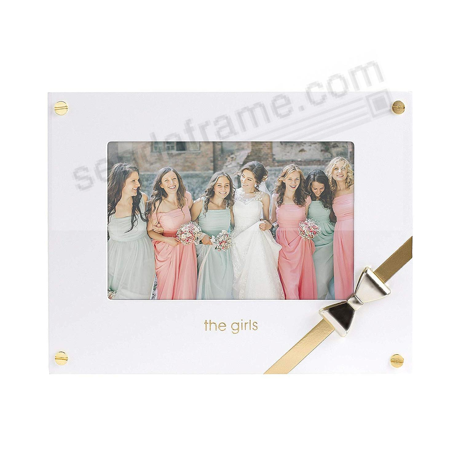THE GIRLS SENTIMENT FRAME by Pearhead®
