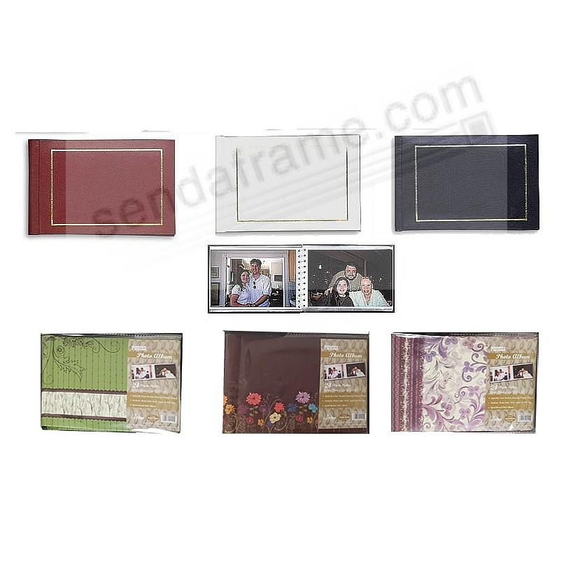 Spiral Bound BRAGBOOKS by Pioneer® hold 24 photos (sold in 3's-assorted)