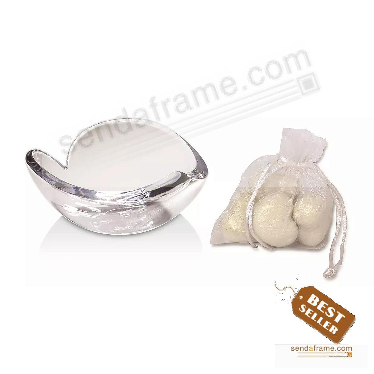 HEART BOWL / SOAPS GIFT SET crafted by Nambe®