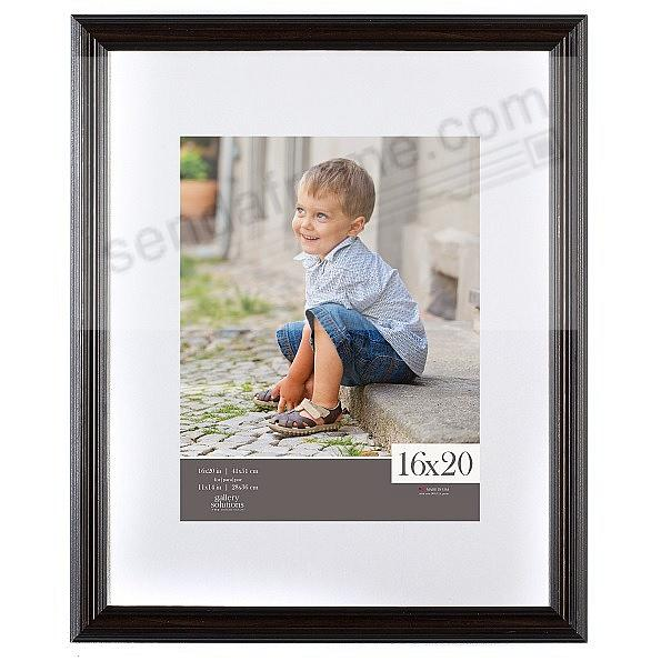 Mahogany-Wall Frame Matted 16x20/11x14 by Gallery Solutions™
