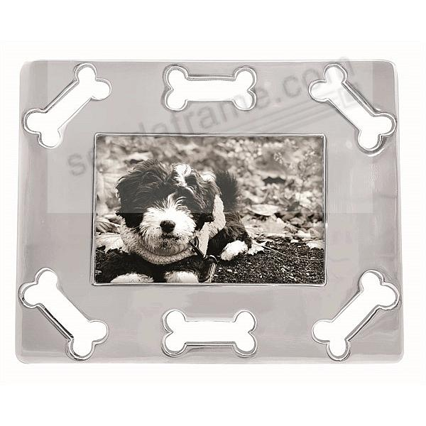 OPEN DOG BONE 4x6 frame crafted by Mariposa®