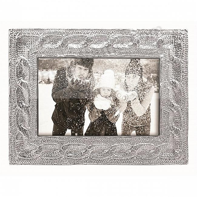CABLE KNIT frame for your 4x6 print by Mariposa®