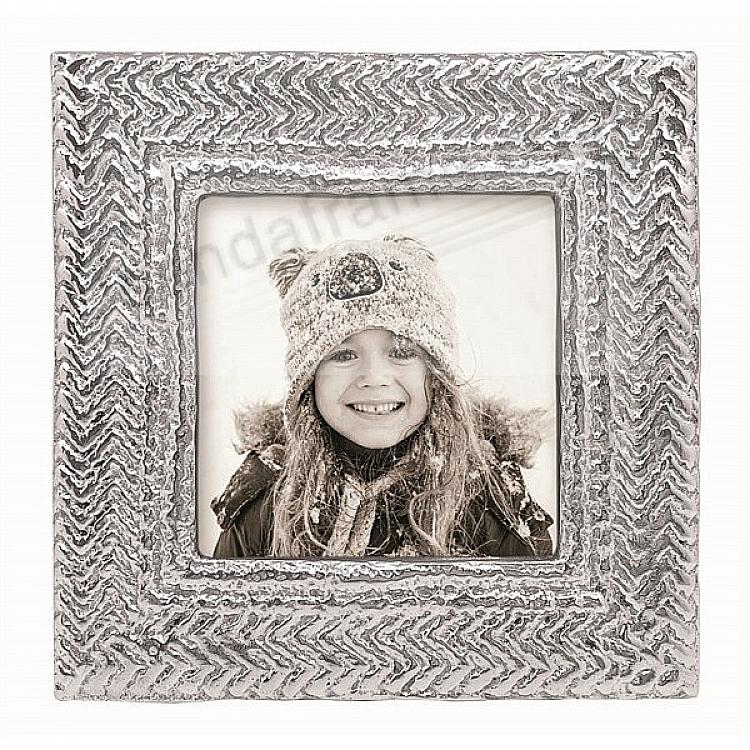 CABLE KNIT frame for your 4x4 print by Mariposa®