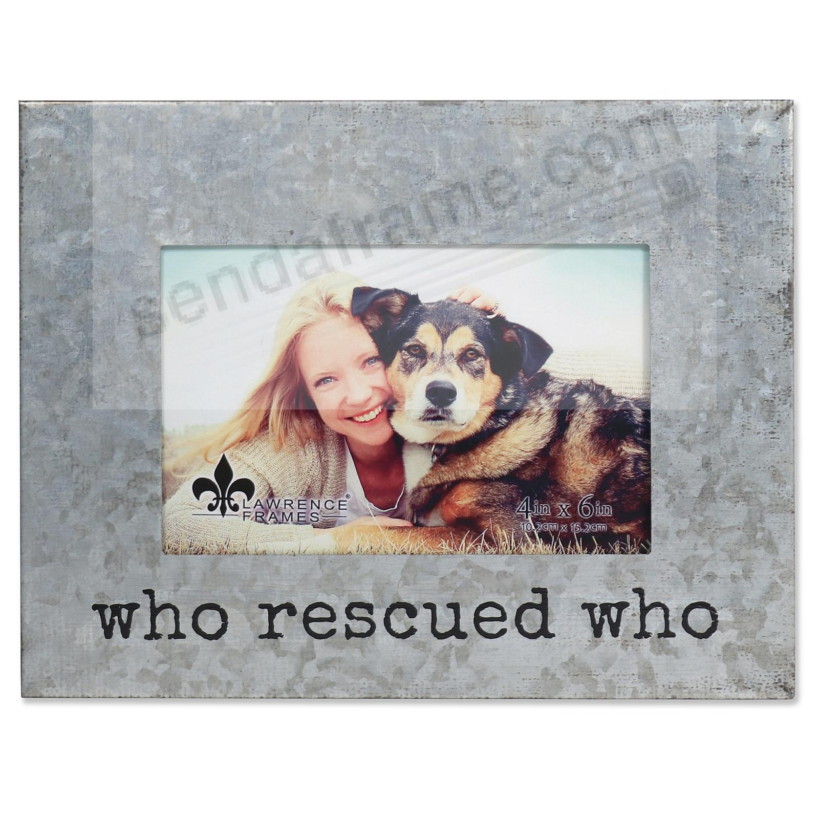 WHO RESCUED WHO by Lawrence®