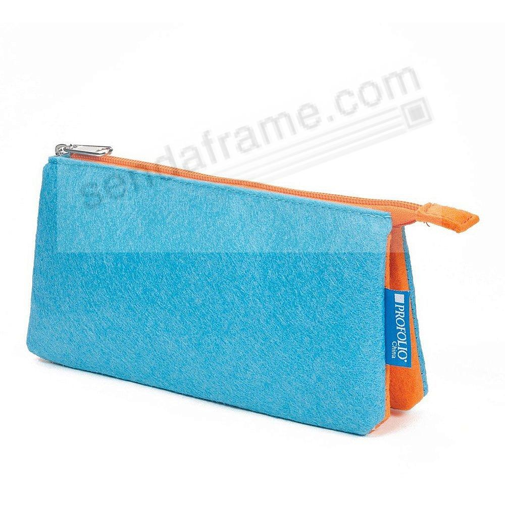 The NEW PROFOLIO MIDTOWN POUCH by Itoya - OCEAN/Orange (5x9-Large)