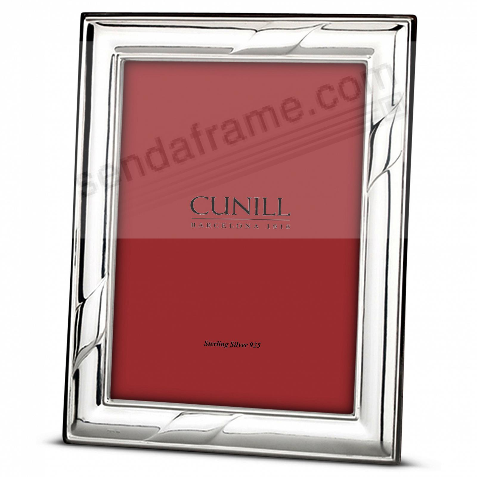 FLAGS Fine Sterling Silver 5x7 frame<br>by Cunill® Italy