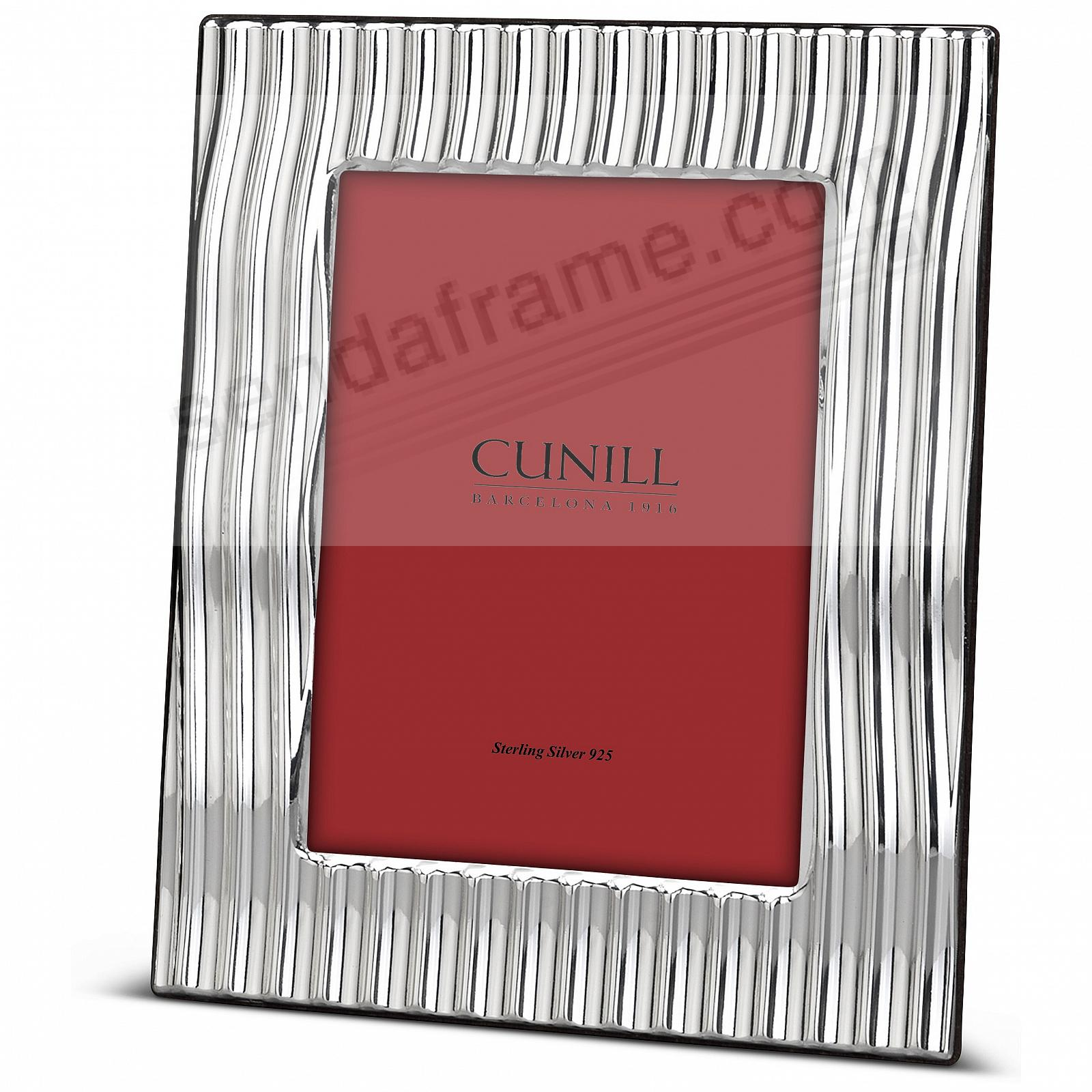 SLOPES Fine Sterling Silver 8x10/7x9<br>by Cunill® Italy