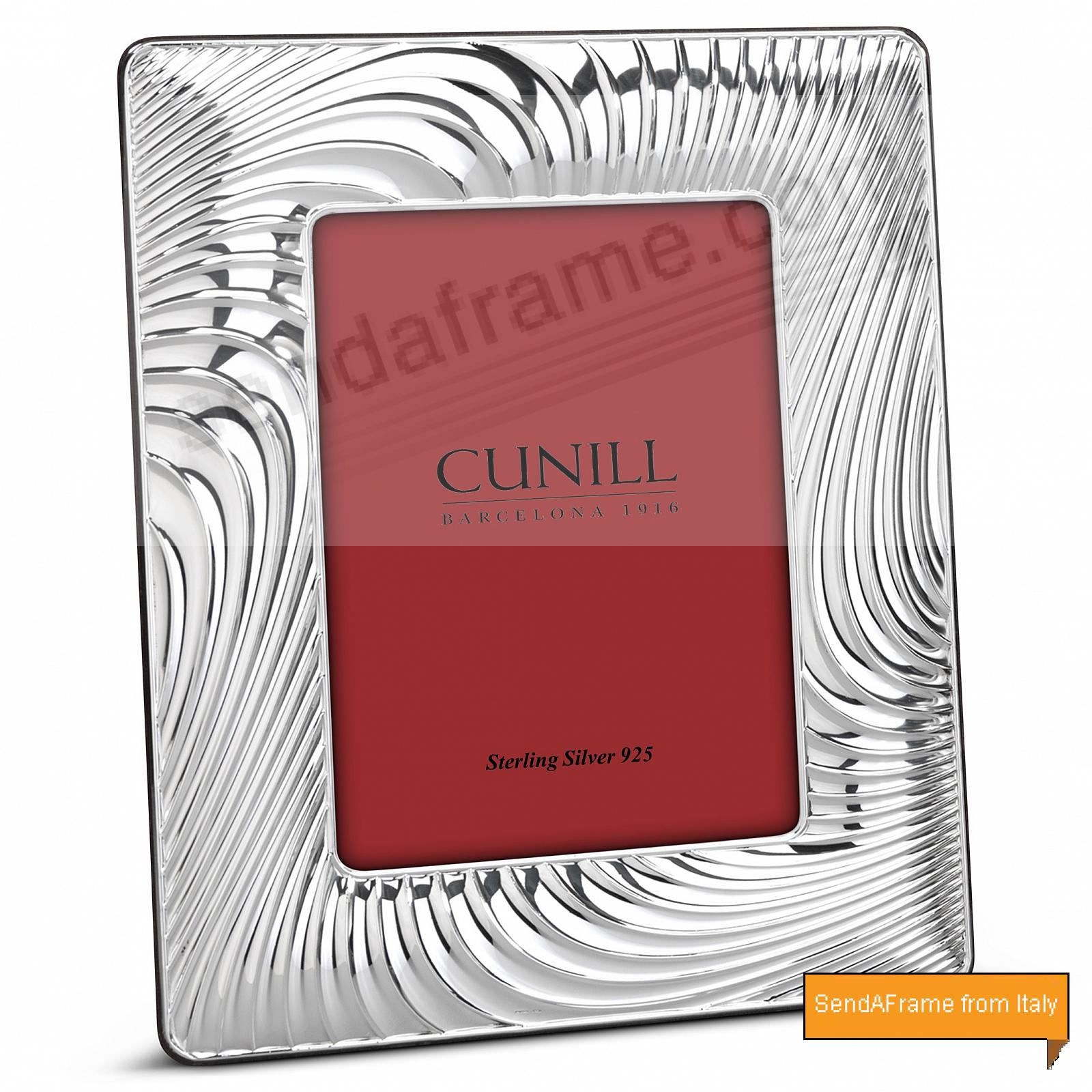 SWIRLS WIDE Fine Sterling Silver<br>by Cunill® Italy
