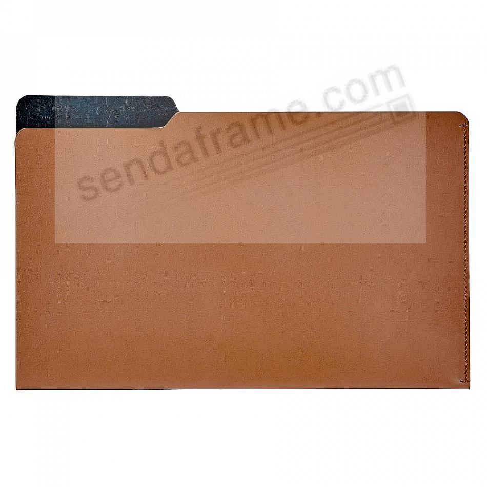 The LUCA LEGAL-Size File Folder TAN/Navy by Graphic Image®