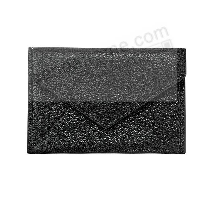 MINI ENVELOPE BLACK Leather by Graphic Image®