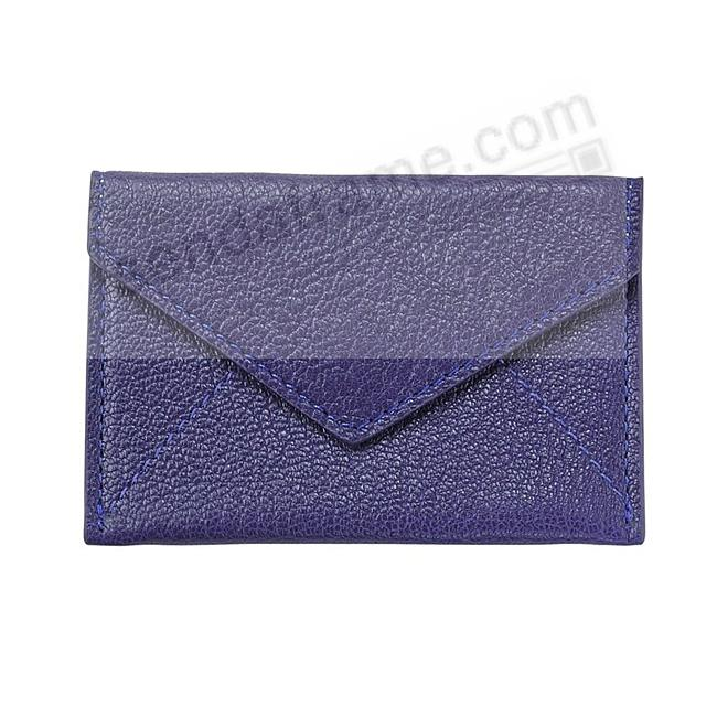 MINI ENVELOPE INDIGO-BLUE Leather by Graphic Image®