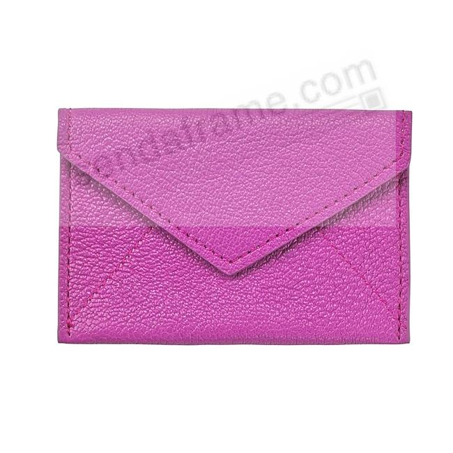 MINI ENVELOPE ORCHID Leather by Graphic Image®