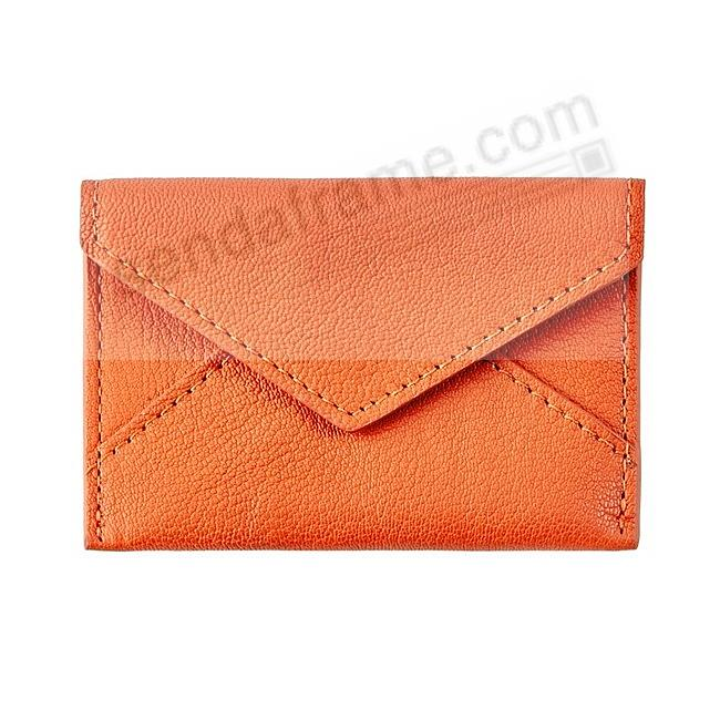 MINI ENVELOPE ORANGE Leather by Graphic Image®
